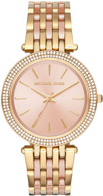 Michael Kors Darci Rose Gold Tone Ladies Watch