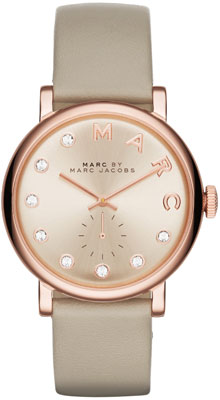 Marc Jacobs Baker Rose Gold Tone Ladies Watch