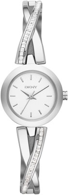 DKNY Crosswalk Glitz Crystal Ladies Watch
