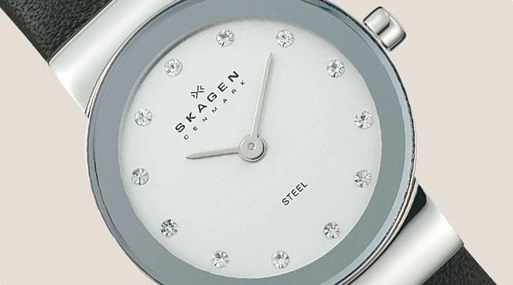 Skagen Crystal Ladies Watch