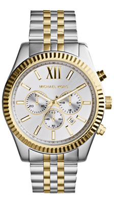 Michael Kors Lexington Bi-Metal Chronograph Men's Watch