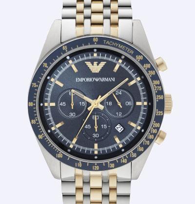 Emporio Armani Two-Colour Men's Watch