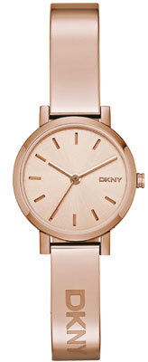 DKNY Soho Rose Gold Tone Ladies Watch