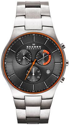 Skagen Aktiv Titanium Chronograph Men's Watch