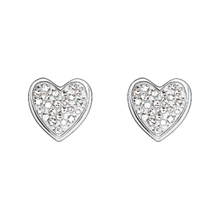 Thomas Sabo Silver Heart Stud Earrings