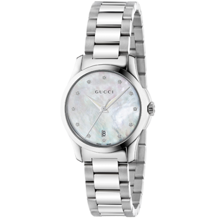 Gucci G-Timeless Diamond Ladies Watch