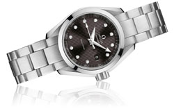 Omega Seamaster Aqua Terra Diamond Set Ladies Watch