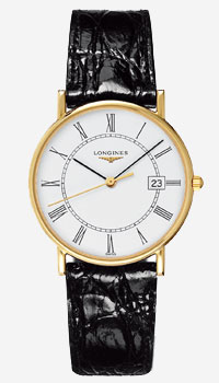 Longines Presence 18ct Gold Plated Men's Watch