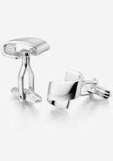 Men's Silver Cufflinks