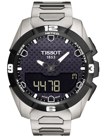 Tissot T-Touch Expert Solar Chronograph Men's Watch