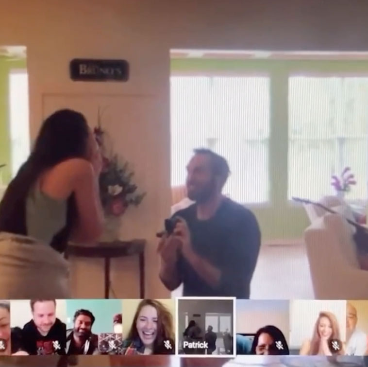 Jaz And PJ Bruno Google Hangout Engagement