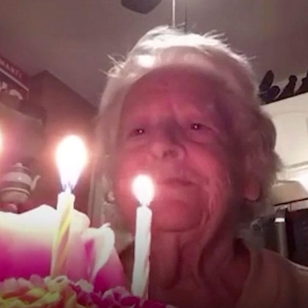 Norma Sings Happy Birthday