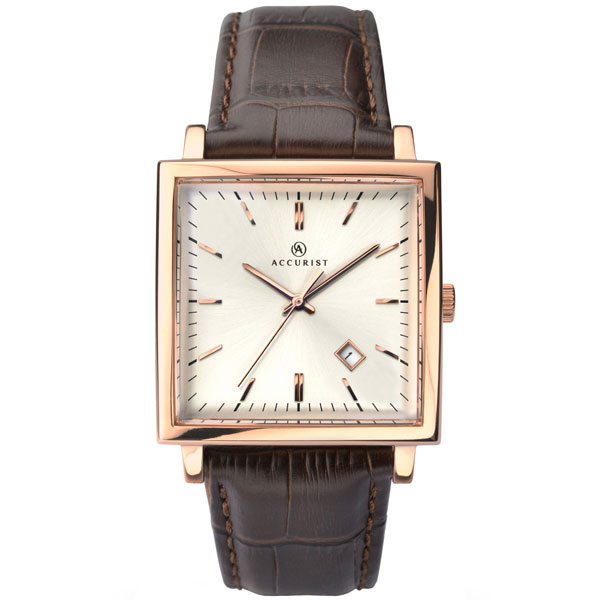 Accurist Rose Gold Tone Men's Watch