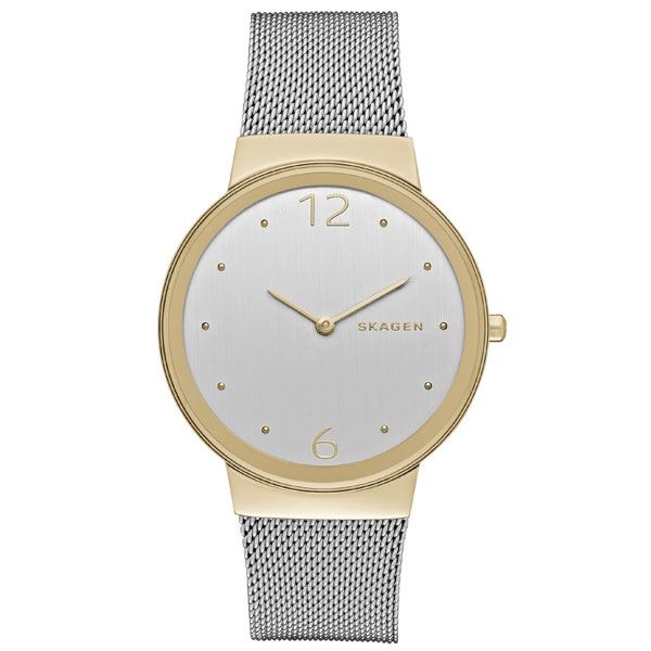 Skagen Freja Two-Colour Mesh Ladies Watch
