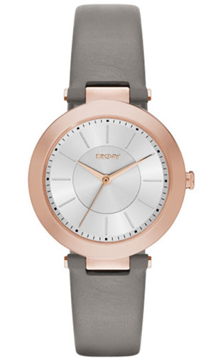 DKNY Stanhope Rose Gold Tone Ladies Watch