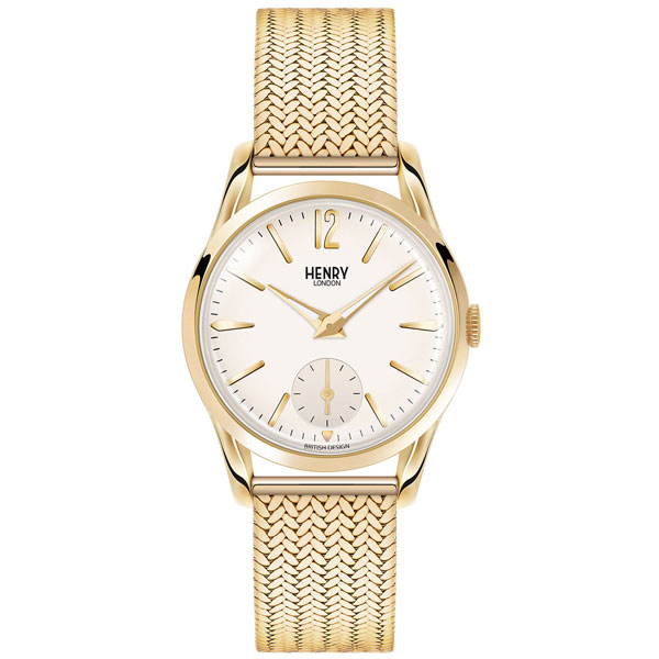 Henry London Westminster Gold Tone Ladies Watch