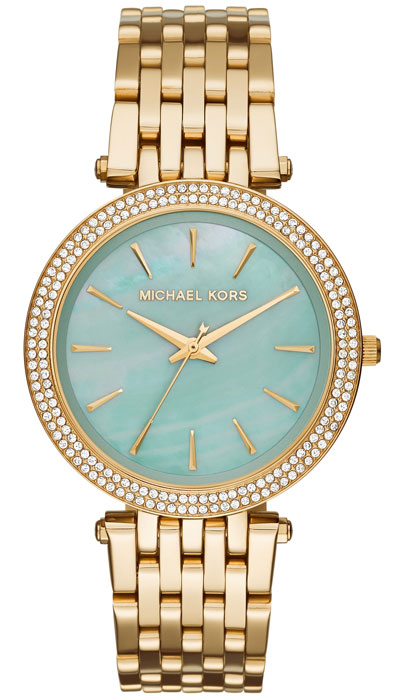Michael Kors Darci Gold Tone Crystal Ladies Watch