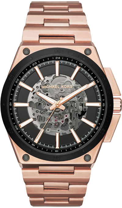Michael Kors Wilder Rose Gold Tone Automatic Men's Watch