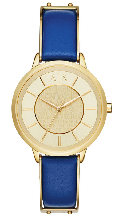 Armani Exchange Olivia Gold Tone Ladies Watch