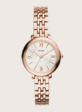 Fossil Jacqueline Rose Tone Ladies Watch