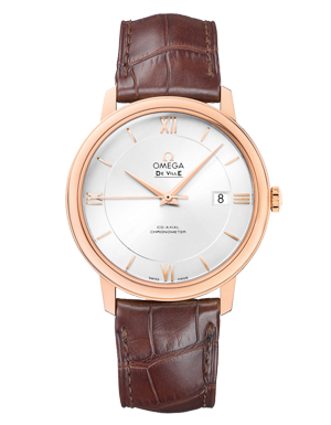 Omega De Ville Prestige Rose Gold Automatic Men's Watch