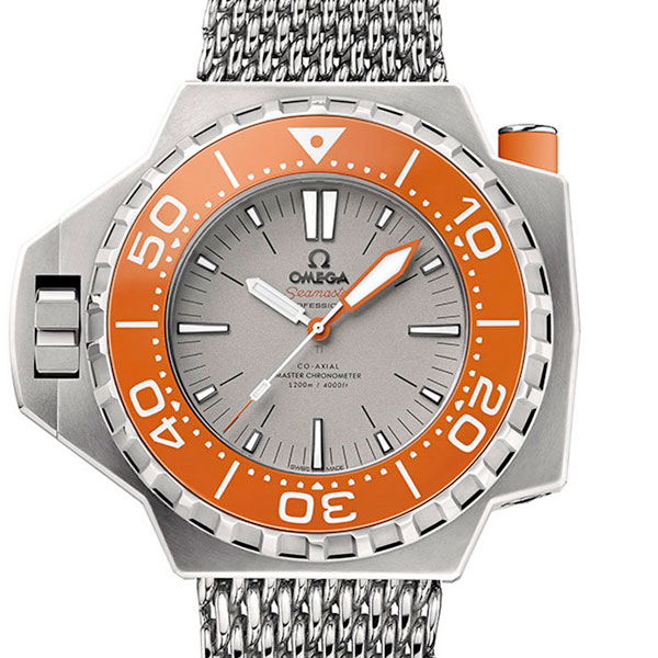 Omega Seamaster Ploprof Titanium Automatic Men's Watch