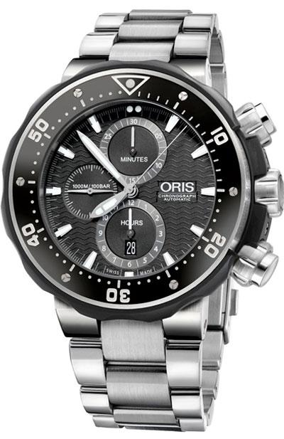 Oris ProDiver Titanium Automatic Chronograph Men's Watch
