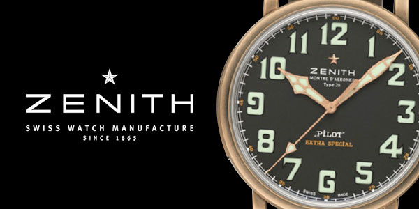 Bronze Zenith Watches