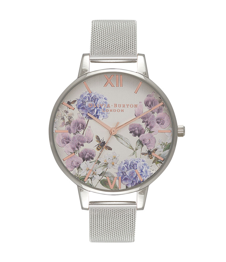 Olivia Burton Parlour Bee Blooms Ladies Watch