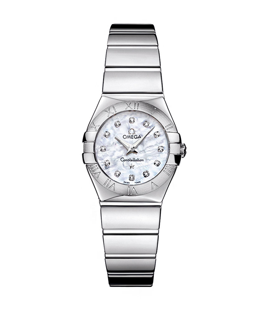 Omega Constellation Diamond Set Ladies Watch