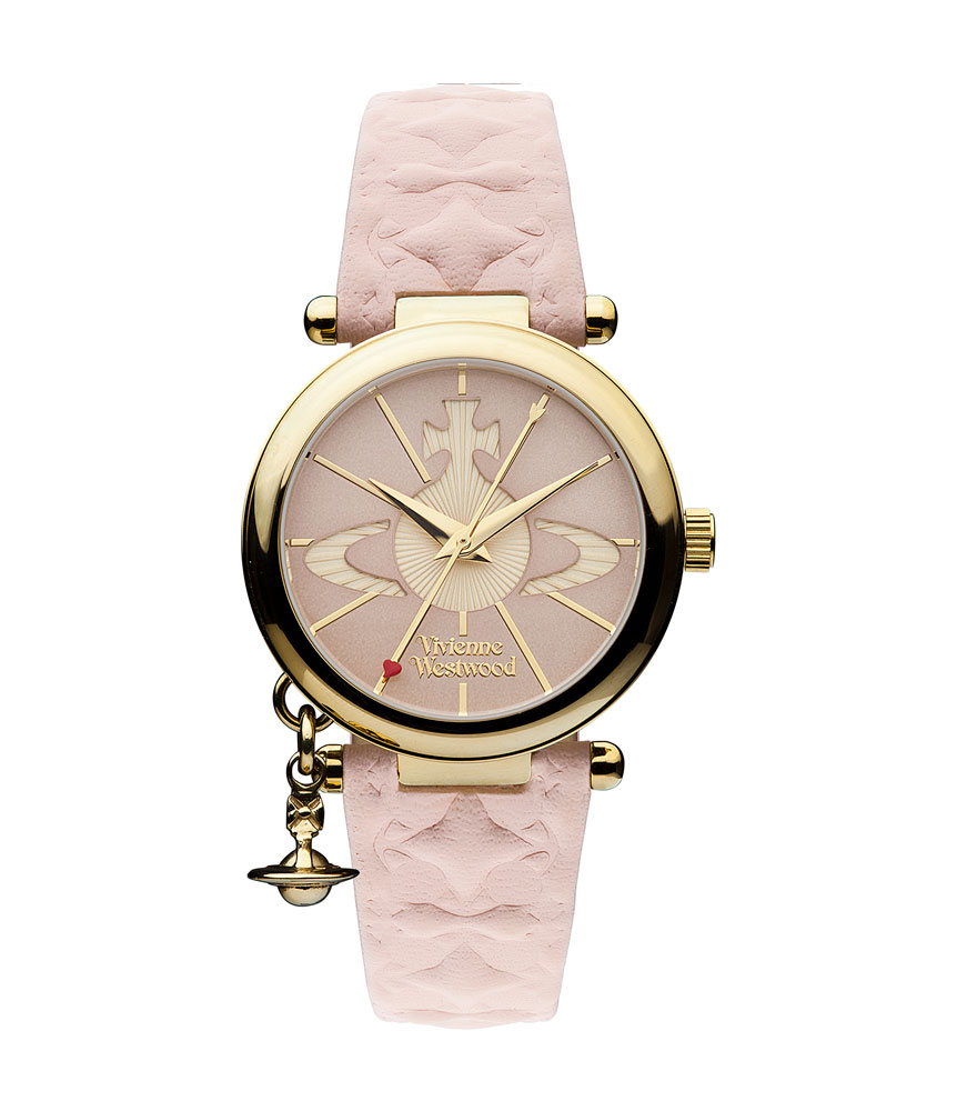 Vivienne Westwood Orb II Gold Plated Ladies Watch