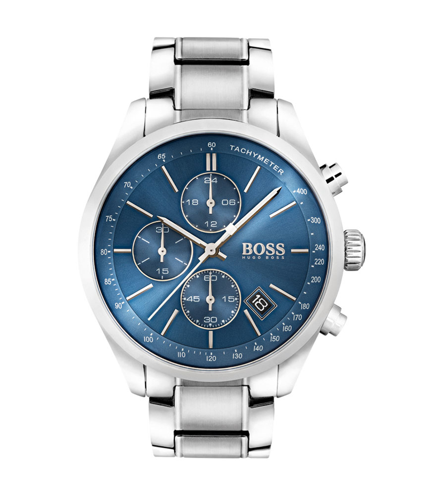 Hugo Boss Gold Tone and Stainless Steel Chronograph Men's Watch