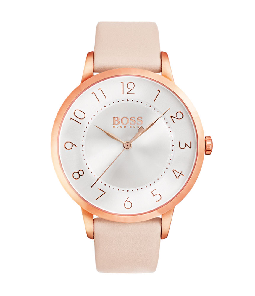 Hugo Boss Eclipse Rose Gold Tone Ladies Watch