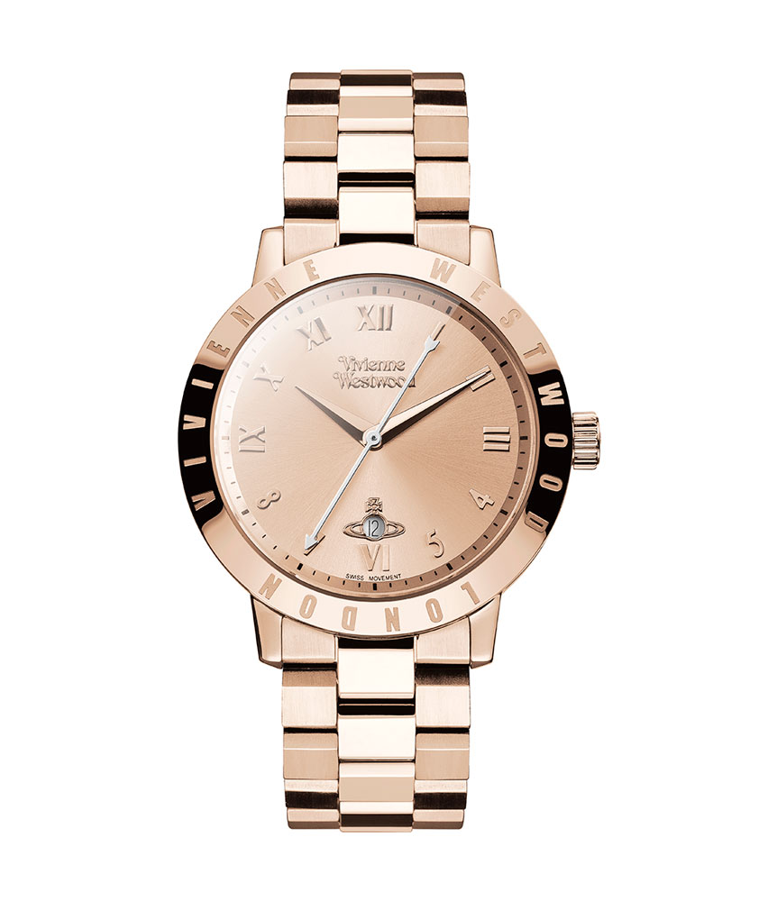 Vivienne Westwood Bloomsbury Rose Gold Tone Ladies Watch