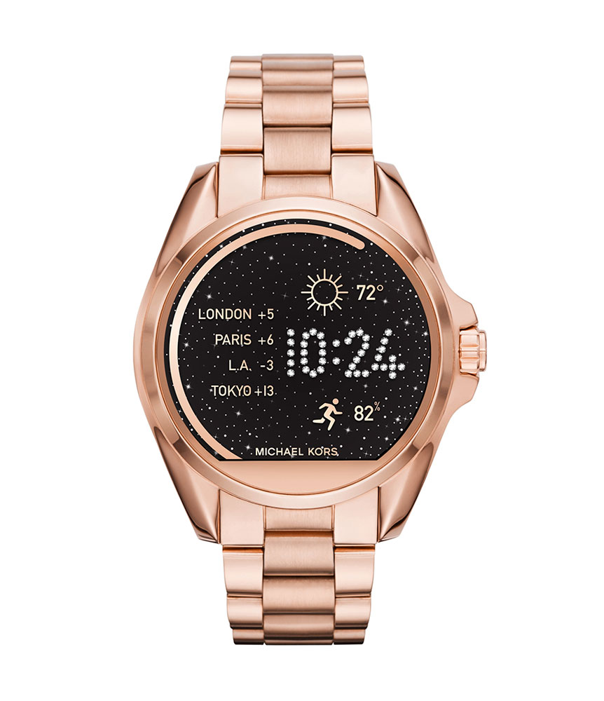 Michael Kors Access Bradshaw Rose Gold Tone Ladies Smartwatch