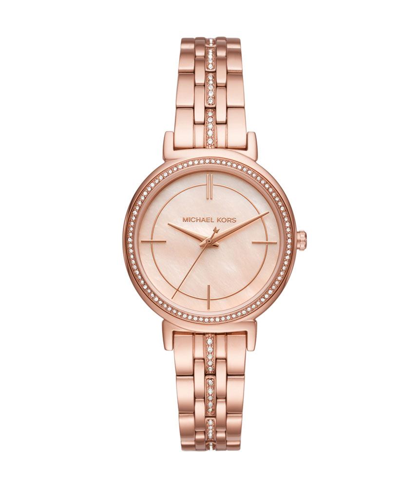 Michael Kors Cinthia Rose Gold Tone Ladies Watch