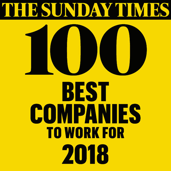 Sunday Times Best Companies Logo