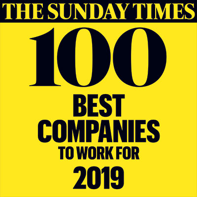Sunday Times Best Companies To Work For 2019