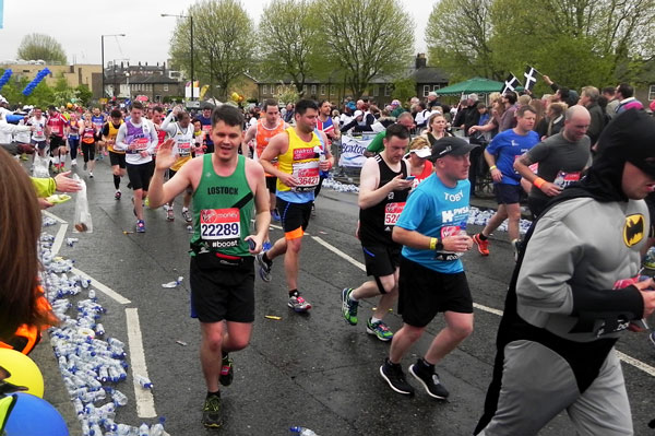 Rob Garstang Running The London Marathon