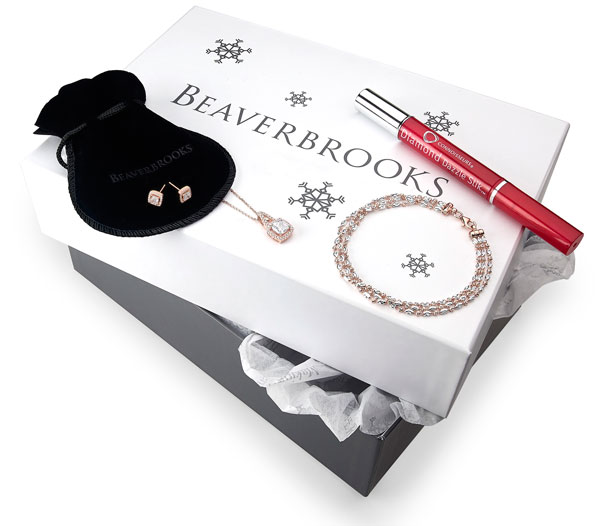 Beaverbrooks All That Glitters is Rose Gift Box