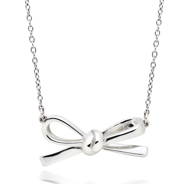 /0011830/Silver-Bow-Necklace/p