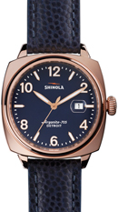 Shinola Breakman PVD Rose Gold Plated Men's Watch