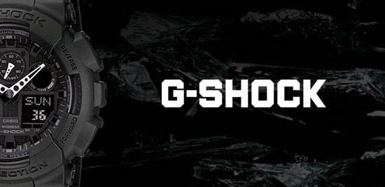 Casio G-Shock Alarm Chronograph Men's Watch