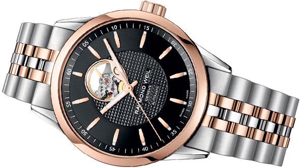 Raymond Weil Freelancer Open Balance Wheel Automatic Men's Watch
