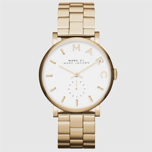 Marc Jacobs Baker Gold Tone Ladies Watch