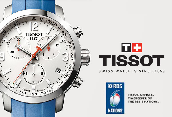 Tissot and the RBS 6 Nations