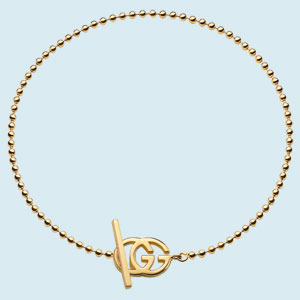 Gucci Running G 18ct Gold Bracelet