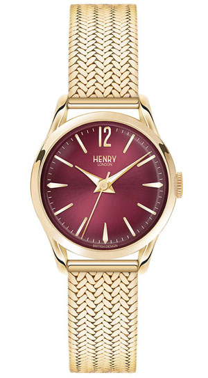Henry London Holborn Gold Tone Ladies Watch