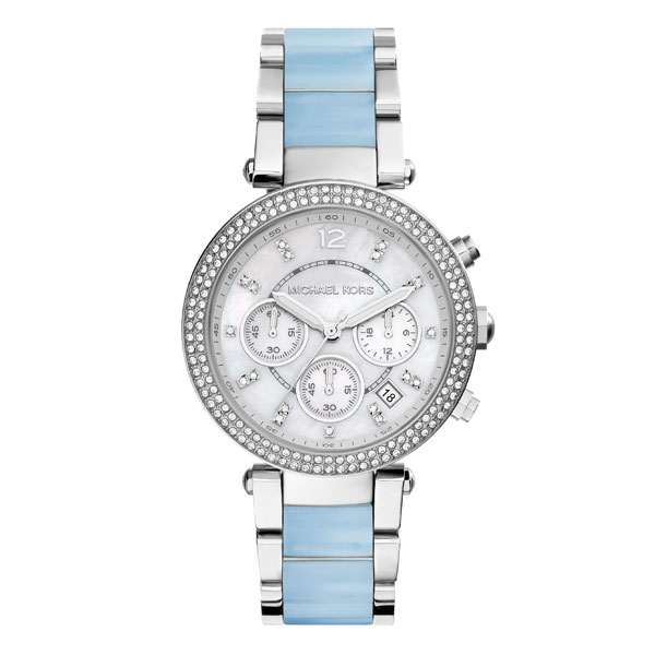 Michael Kors Parker Chronograph Crystal Ladies Watch