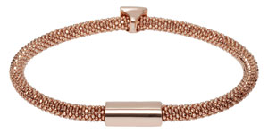 Links of London Star Dust Bead Rose Gold Plated Bracelet